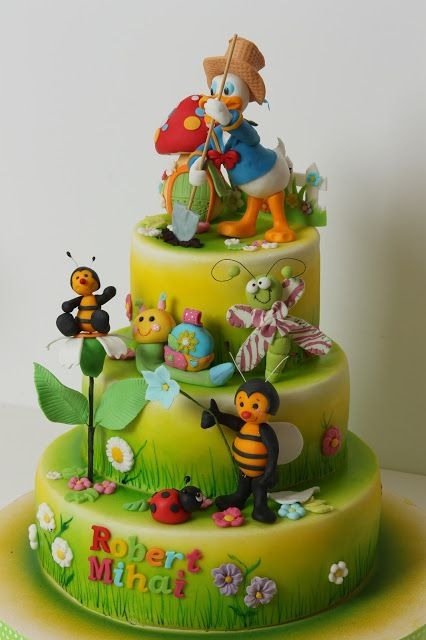 Cakes Disney Daisy Amp Donald Duck On Pinterest Donald