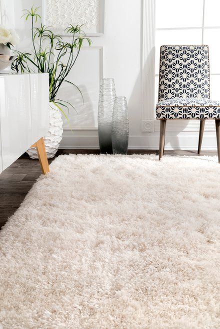 A Fluffy Rug In The Living Room Talk About Major Comfort