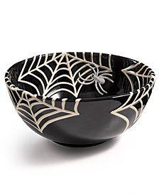 2e7c160257e0 Boston International Pumpkin Covered Candy Dish In Black white ...