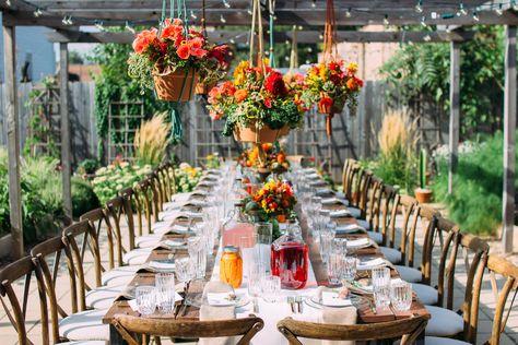 Bohemian Farm To Table Dinner Held In Chicago Urban Farm