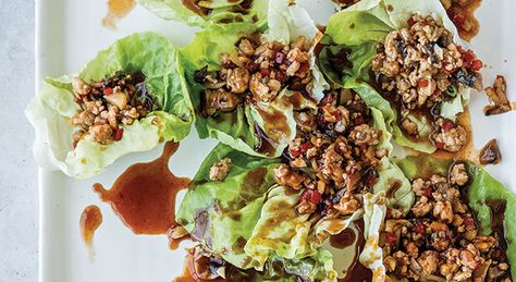 Chrissy Teigen's chicken lettuce wraps
