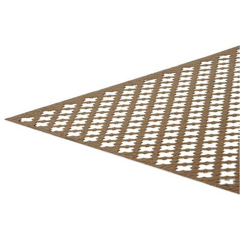 Shop Hillman 24 In W X 36 In L Anodized Aluminum Clover Leaf Decorative Sheet Metal In The She In 2020 Aluminum Sheet Metal Decorative Sheets Aluminium Sheet