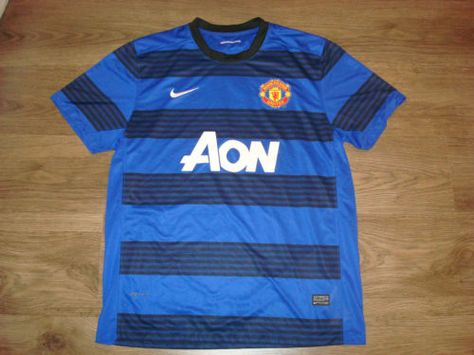 manchester united away 2011 2013 football shirt jersey maglia camiseta nike xl football shirts manchester united manchester united football pinterest