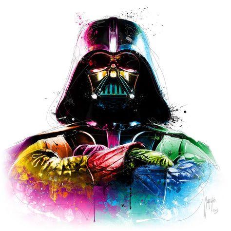 Darth Vader Artist Patrice Murciano Dark Vador Dessin