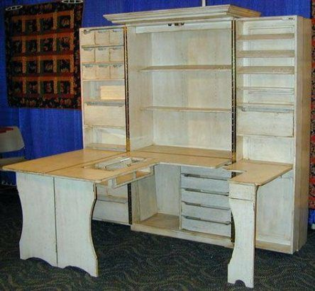 Craft Room Storage Shelves Sewing Tables 65 Ideas