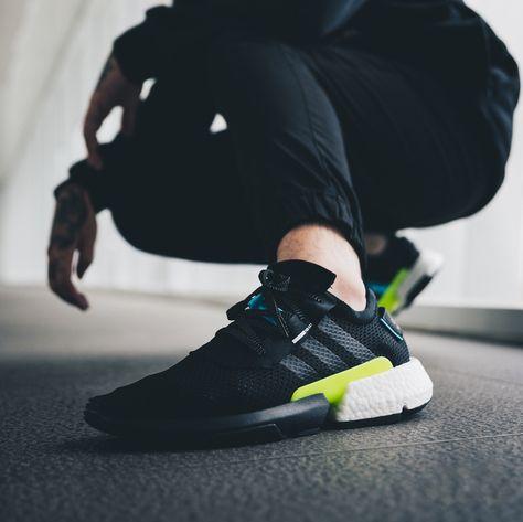 basket adidas POD S3 1 core black ftwr white on feet (7