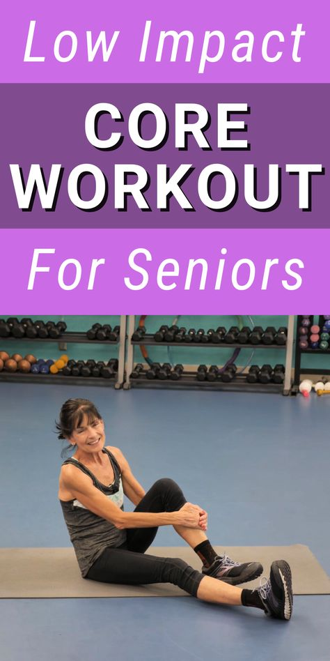 Gym Workout For Beginners, Best Ab Workout, Fitness Workout For Women, Senior Fitness, Senior Workout, Best Abs, Strength Workout, Keep Fit, Easy Workouts