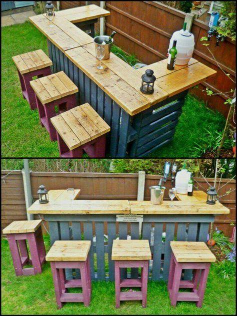 Epingle Par Carrie Hilbert Sur Crafts Mobilier Jardin Palettes