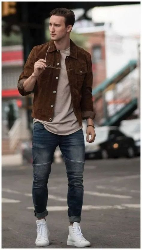 144 fashion mens casual winter outfits fall