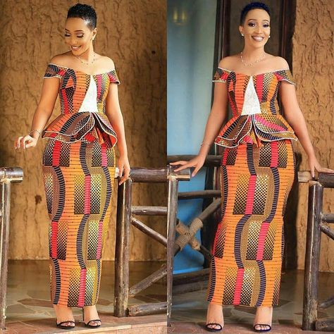 Mind Blowing Ankara Long Gowns You will Love to Rock -  DeZango  FacebookTwitterWhatsAppAddThis