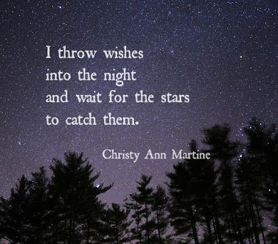 Christy Ann Martine A Dreamy Little Quote About Hope Little Things Quotes Dreamy Quotes Space Quotes