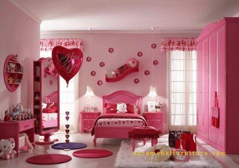 R Tidur Anak Perempuan Mewah Model Valentine Merupakan Salah Satu Produk Unggulan Dari Aura Mebel Furniture Jepara Yang Mempunyai Desain