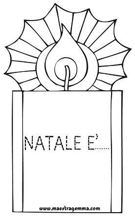 Lavoretti Di Natale Maestra Sabry.Pregrafismo Maestra Gemma Feste Natale Schede Natale E