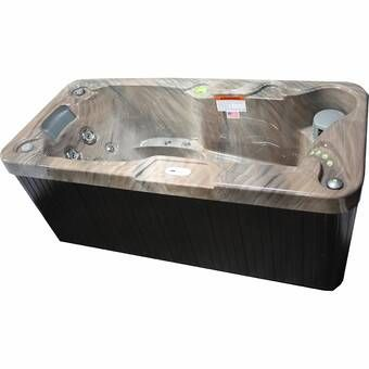 Select 300 2 Person 20 Jet Plug And Play Hot Tub With Led Waterfall In 2020 Tub Tubs For Sale Underwater Led Lights