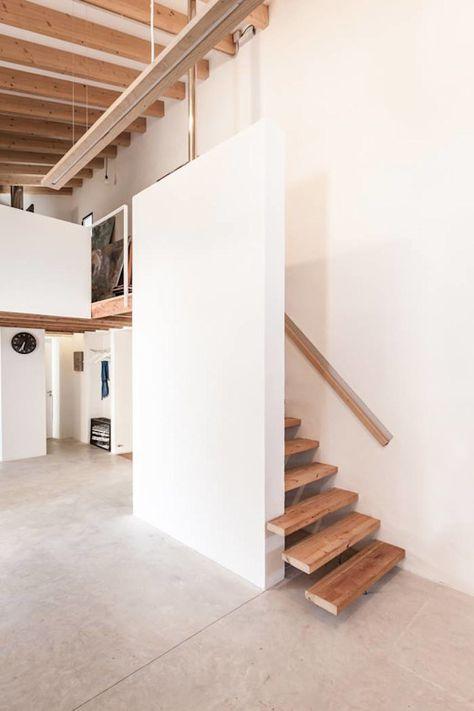 スペースが少ない家に最適な階段15選 階段の設計 自宅で 家