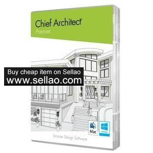 250 00 Usd Chief Architect Premier X10 20 2 3 3 Full License