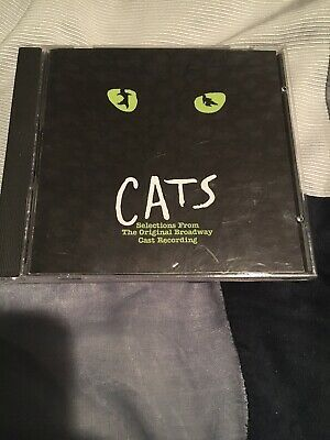 Cats Selections From The 1982 Original Broadway Cast Recording 720642202623 Ebay It Cast A Chorus Line The Originals