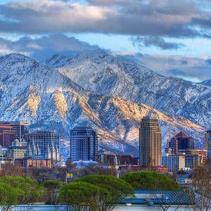 Salt Lake City Utah USA by Douglas Pulsipher