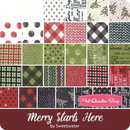 Moda Christmas Fabric 2019.Merry Starts Here By Sweetwater For Moda Fabrics May 2019