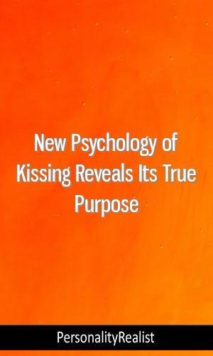 New Psychology of Kissing Reveals Its True Purpose