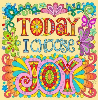 Today I Choose Joy 400 Pieces Colorful Art Prints Peace And Love