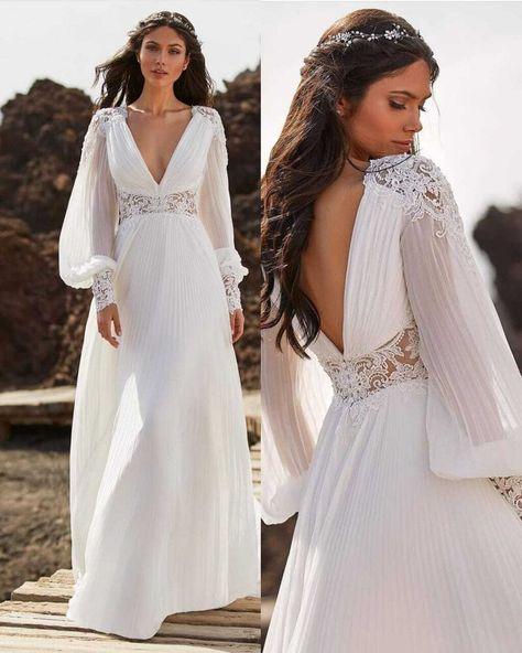Vestidos de noiva 2021  - @ChrysanaOficial