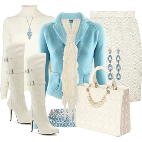 Winter Beauty, created by stylesbyjoey on Polyvore