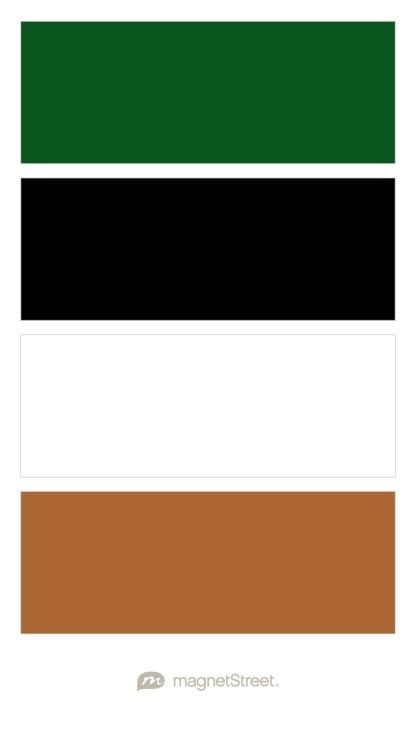 Custom Green Black White And Matte Copper Wedding Color Palette Custom Color Palette Crea Black Color Palette Black And White Office Copper Colour Palette