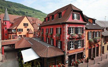 Hotels De Luxe Et Restaurants Etoiles En Alsace Lorraine Relais Chateaux Alsace Restaurant Dormer Windows