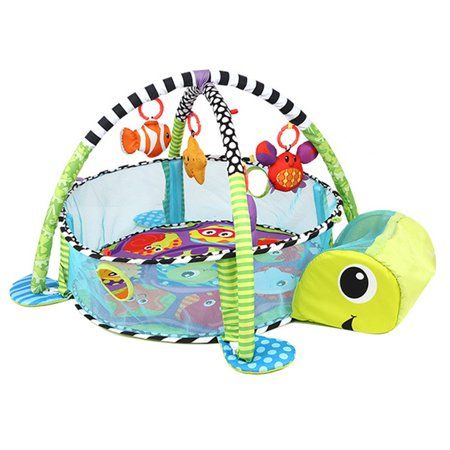 Baby Activity Gym Game Center Turtle Play Mat Infant Hanging Toys Toddler Balls Pit Grow Development Station Imag Baby Activity Gym Baby Play Mat Lion Baby Toy