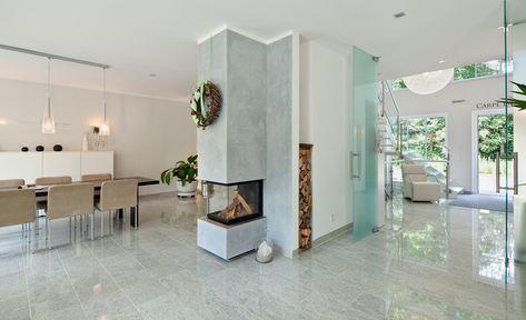 Kamin Villa Design. Image Result For Kamin Modern Fireplace
