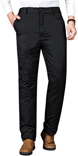 Gihuo Mens Casual Elastic Waist Drawstring Straight Leg Linen Pants with Pockets