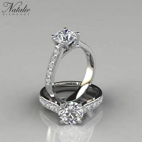 Design an engagement ring that's uniquely yours on NatalieDiamonds.com.