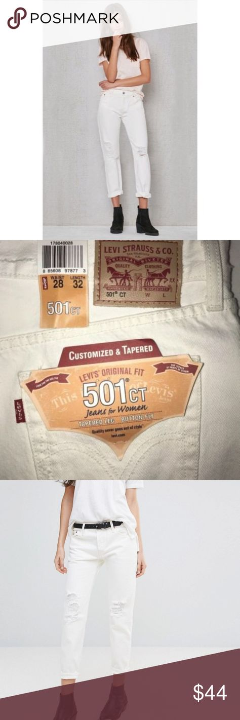 5838b718 Levis Womens 501 Customized and Tapered Jeans NEW NWT My Posh