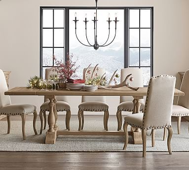 Parkmore Reclaimed Wood Extending Dining Table Dining Room Sets Christmas Dining Table Luxury Dining Room