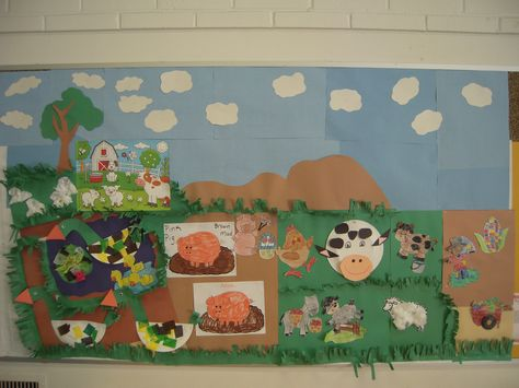 """Old MacDonald's Farm @ Los Altos Library-Preschool Storytime. Developmental Activities Taught: Pinch and Pull, Fine Motor Skills and use of Mixed Media. """"I can do all by myself"""" crafts included: Sheep-Ducks-Frogs-Cows-Pigs and Festival Corn."""