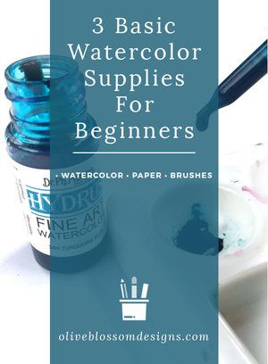 Simple Watercolor Guide For Beginners Supplies Winsor Newton