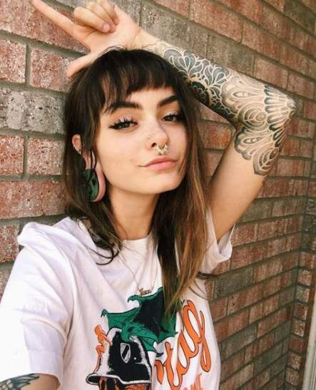 33 Trendy Ideas Piercing Septum Girl Stretched Ears