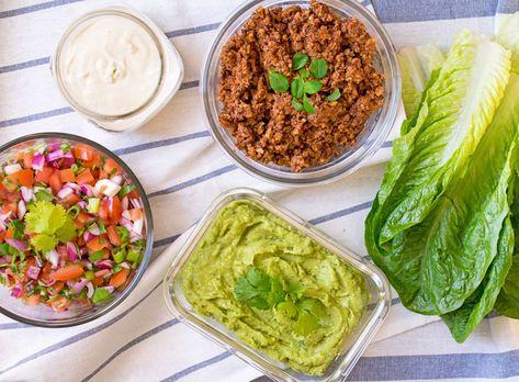 Raw Vegan Tacos