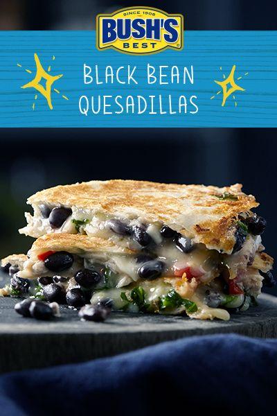 Bush's® Black Bean Quesadillas