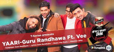 Yaari Is Another Music Song From Guru Randhawa For Happy New Year