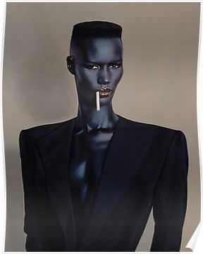 'Night Clubbing - Grace Jones' Art Print by goatboyjr