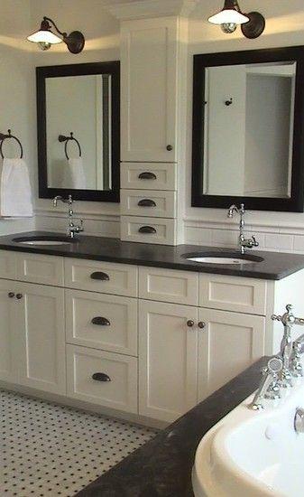 Ideas For Home Decor | Cabinet Design, Traditional Bathroom And Bathroom  Designs