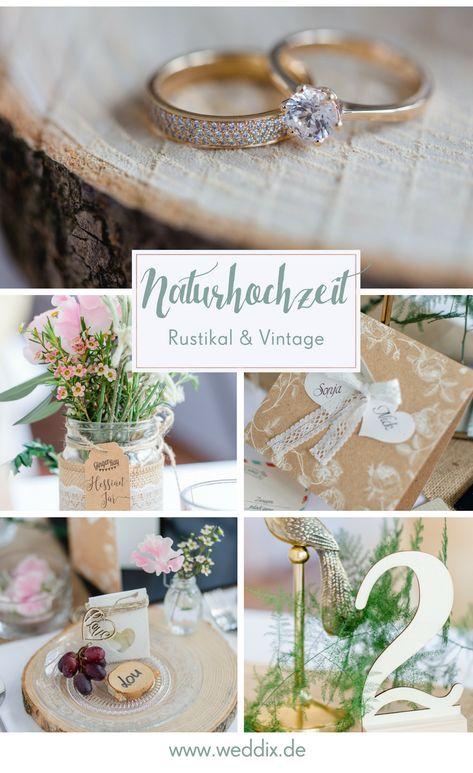 Hochzeitstrend Natur Hochzeit Hochzeit Natur Naturhochzeit Holz