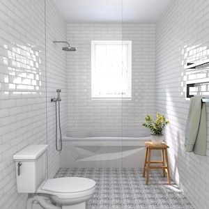 Skybridge 12x12 Off White In Diamond Pattern Diamond Tile Pattern Shower Tile My Home Design