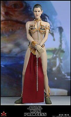 1//6 Princess Leia Head Sculpt STAR WARS A New Hope For PHICEN Female Figure USA