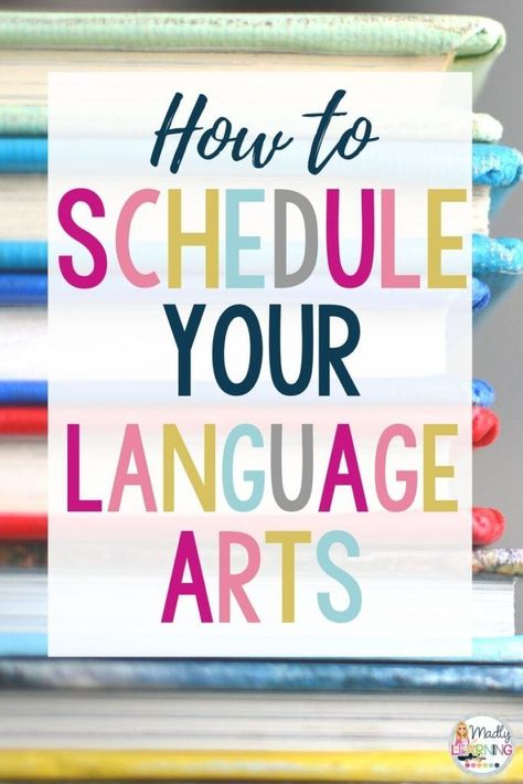 How to Schedule Your Language Arts | Teaching a Split Grade Class