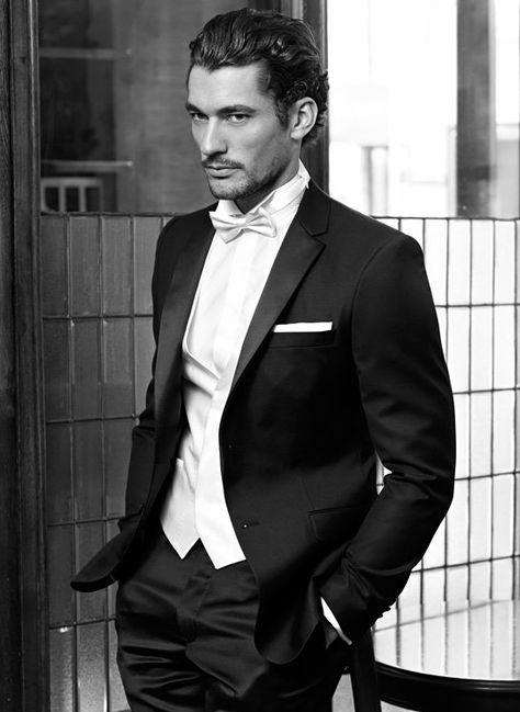 Formidable style with White Tie & Tuxedo. (Bellagio)