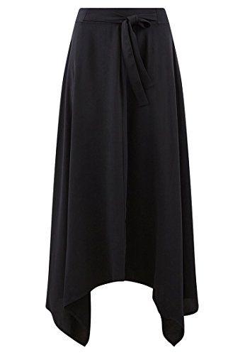 9013541c27c473 Promod Longue Jupe évasée Femme Noir 36 | Jupes femme in 2019 ...
