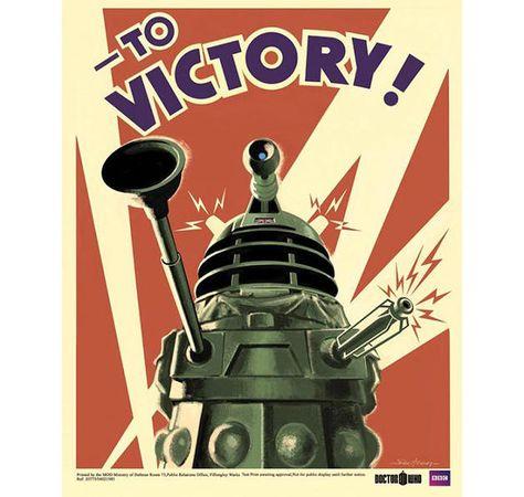 Doctor Who Poster Dalek